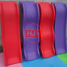 Hot Sale Custom cheap price fancy style color playground slides for kids