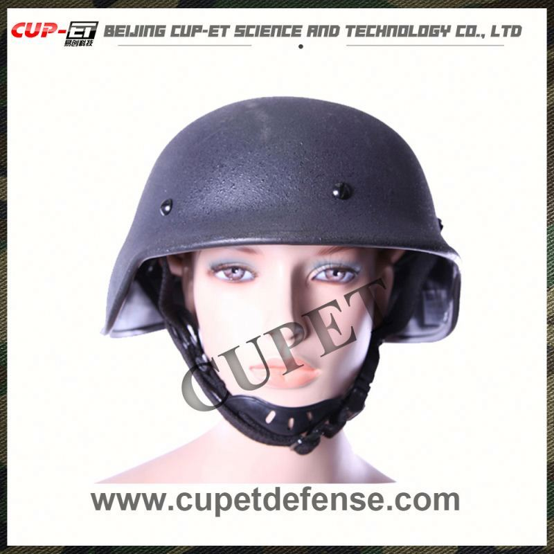 Military body armor steel ballistic helmet