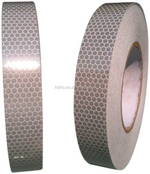 "2"" X 10' Trailer Conspicuity DOT Reflective Red/White Tape"