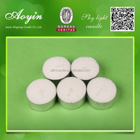 Wholesale Cheap White Round Tealight Candles