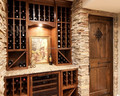 Navilla decorative stacked stone wall panels for wine cellar