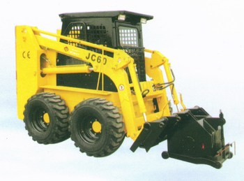 Planer of skid steer loader