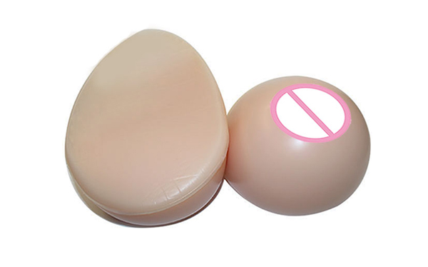 Free Shipping 400g/pair Realistic Soft Beautiful Silicone Breast Form False Breast Silicone Breast Boobs for Crossdresser