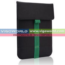 Premium leather sleeve bag for B-Pad 717 4G 7inch tablet PC wrapped stand envelop