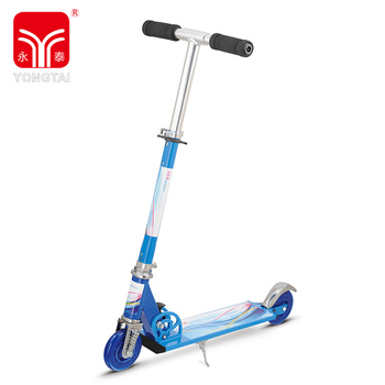 Light Weight 2 Wheels Aluminum Useful Foldable Scooter, Kids Scooter With Foam Handle