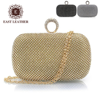 Fashion 2018 trending product shiny little Rhinestone clutch bags , lady evening bag