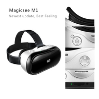 "HMD-518 80"" Wide Screen 1080P 3D glasses Video Movie Game Glasses VR Virtual Reality Headset Private Mobile Cinema Personal"