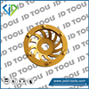 PCD cup wheel used for floor coating removal,epoxy and paint grinding