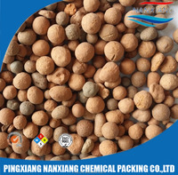 Light Weight Expanded Clay Ball for water treatment 3-30mm Ceramic Grain Filters