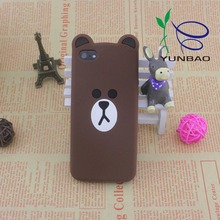 OEM silicon cute 3d penguin cute mobile phone cover
