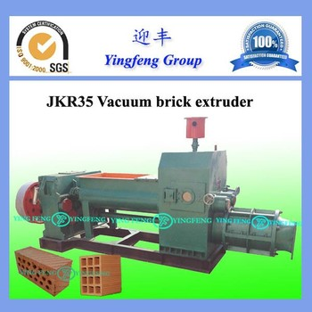 Advanced Technology JKR35 brick making machines clay,mud brick making machine,automatic red brick extruder