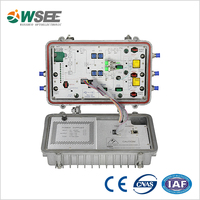4 outputs cable line optical receiver in EOC network