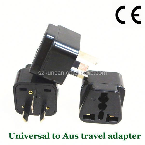 AU/US/UK/South Africa plug travel adapter plug korea for Worldwide use