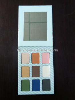 Custom Eyeshadow Palette Private Label Eye Shadow Cardboard Palette Manufacturer
