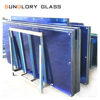 Cover balcony tempered insulating hollow glass