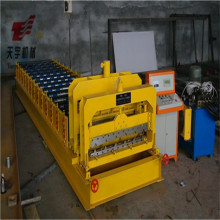 955 aluminum automatic roofing step tile rolling forming machine