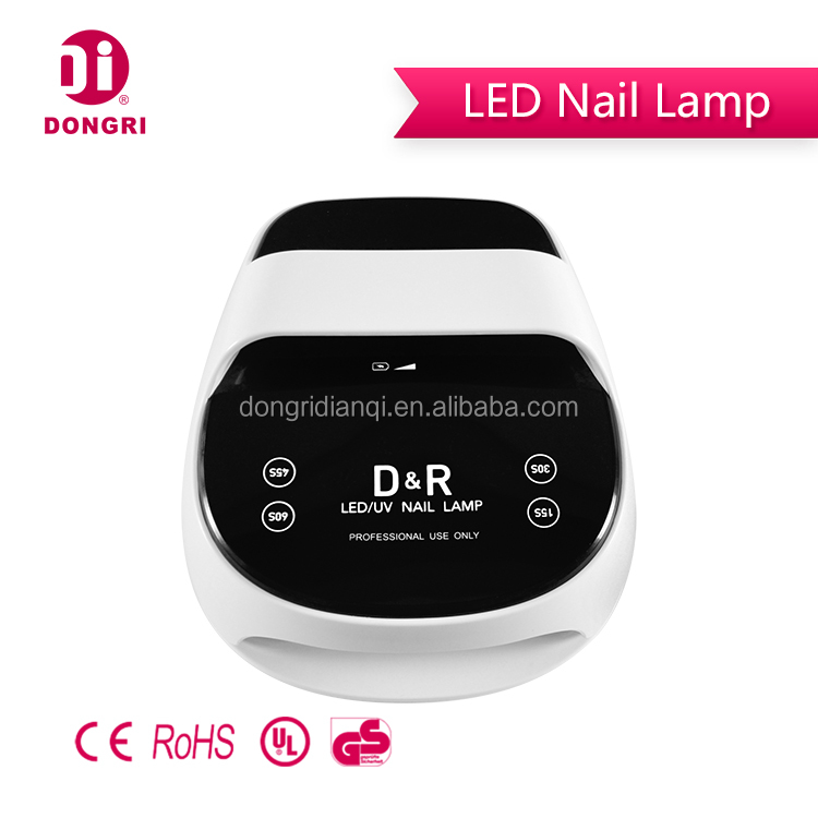 Dome Shape Dr-618 Ce- Approved 12w Led Nail Lamp - Buy Nail Lamp,Led ...