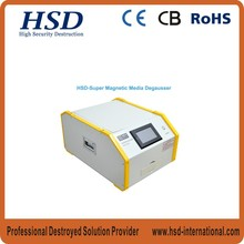 HSD-Super high security electric table top magnetic media Degaussers