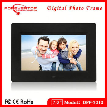 2016 factory low price 7 inch Decorative Digital Photo Frame