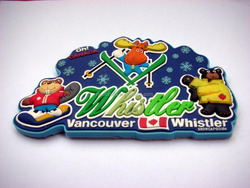 Vancouver Whistler fridge magnet for deco home china supplier