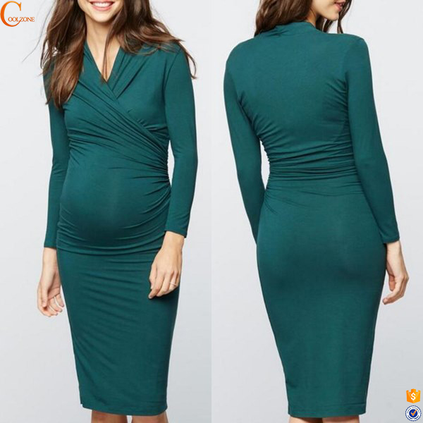 Office maternity clothing women evening dresses