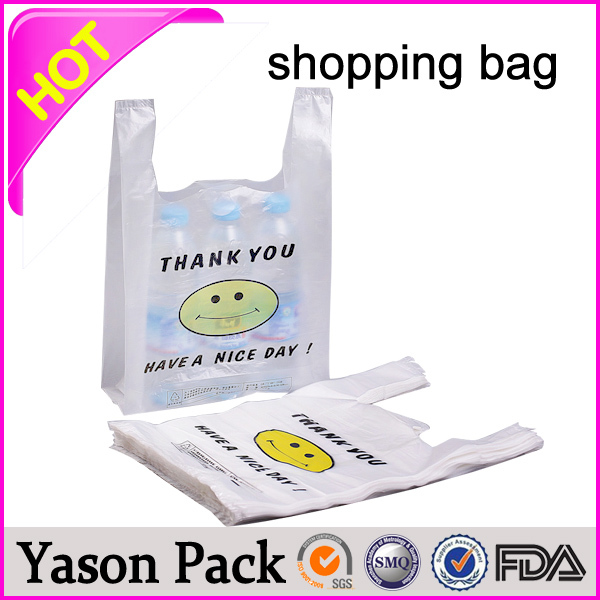 YASON promotional wine bottle carrier bag packaging for juice bio degradable bag