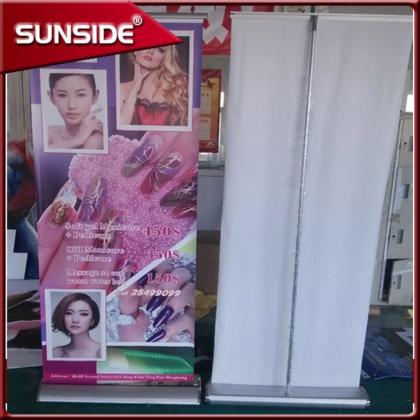retractable roll up banner stand exhibition display banner ZBX-07