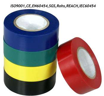 Utility vinyl wrap flex pvc electrical wire insulating tape black