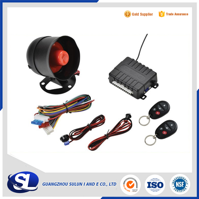 Hot Sales in Mexico Lower price Car Alarm Security System Car immobilizer car alarm system with remote engine start