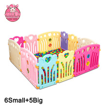 Best Choice Products Playpen Baby Kids 11 Panel Safety Play Yards