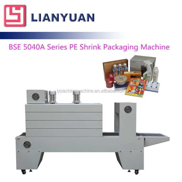 BSE 5040A Series PE film shrink packing machine /bottle sleeve wrapper thermal shrink packer
