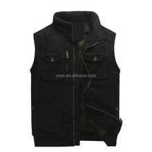 Custom outdoor wear fishing vest for men