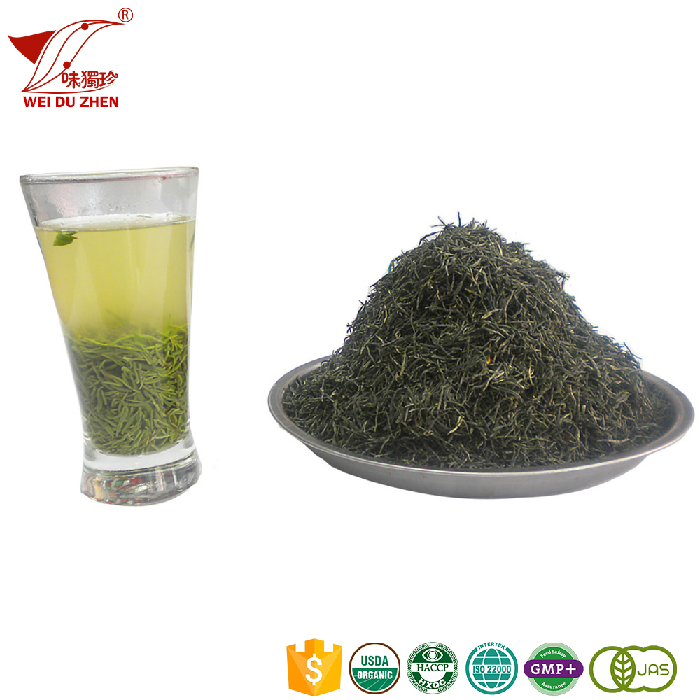 Top Class SiChuan Province Darkish Green Deep Flavor Fresh Tea Leaves Oem Medicinal Graded Royal Tea