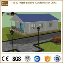 pre made diy manufactured casa quick assemble vacational house with low cost