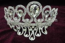 india wedding tiaras;rhinedstone tiara and crown