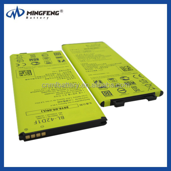 rechargeable aaa/aa batteries BL-42D1F cell phone Battery for LG G5