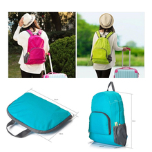 Promotional Travel Foldable Backpack Girl School Bags