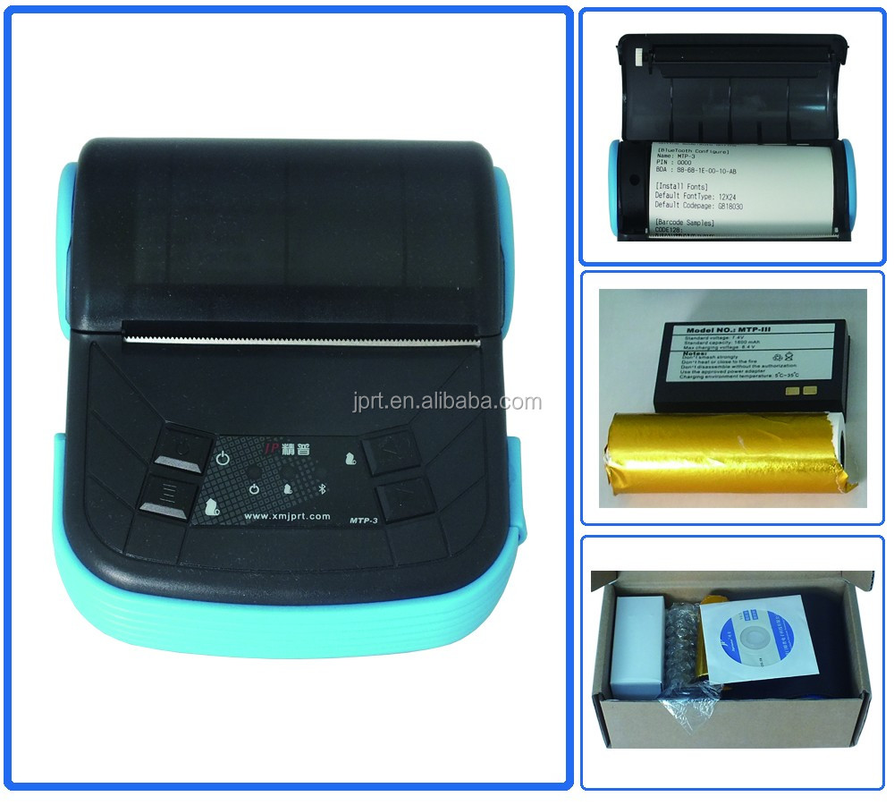 80mm thermal printer bluetooth receipt printer android for mobile India