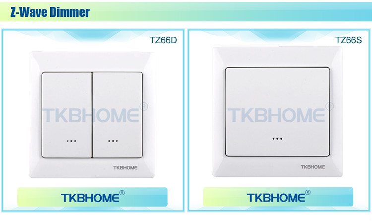 Modern Style Z Wave Light Switch