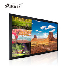 43inch wall mounted lcd indoor led commercial advertising display screen interactive signboard