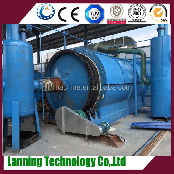 Large Capacity High-tech Tyre Pyrolysis Equipment