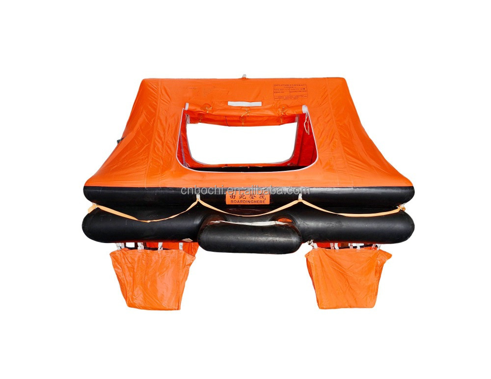 Marine Solas Approved Inflatable Life Raft For Sale