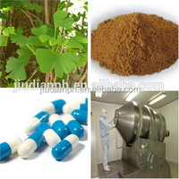 Ginkgo Biloba Extract Ginkgoflavon Glycosides24%, Terpene Lacosides6% USP/EP Standard from GMP Manufacturer