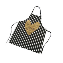 Wholesale Fashion Stripe lovely Adult Cooking Apron