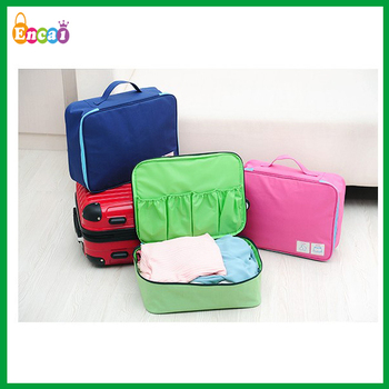 Encai New Product Travel Organizer Bag For Underwear&Stocks/Bra Bag In Bag/Large Handbag Organizer Inserts