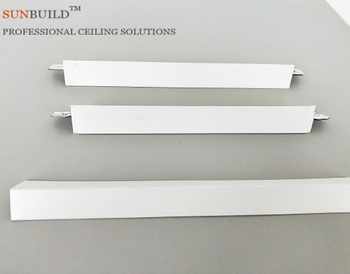 t bar hooks of the gypsum board ceiling system