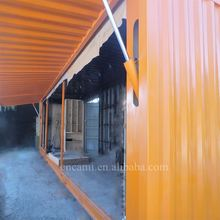 Reasonable pricing very cheap 20ft/40ft hydraulic prefab container house design