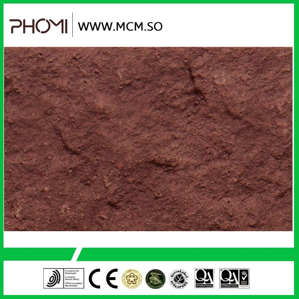 Flexible well fire rated flexible stone tile