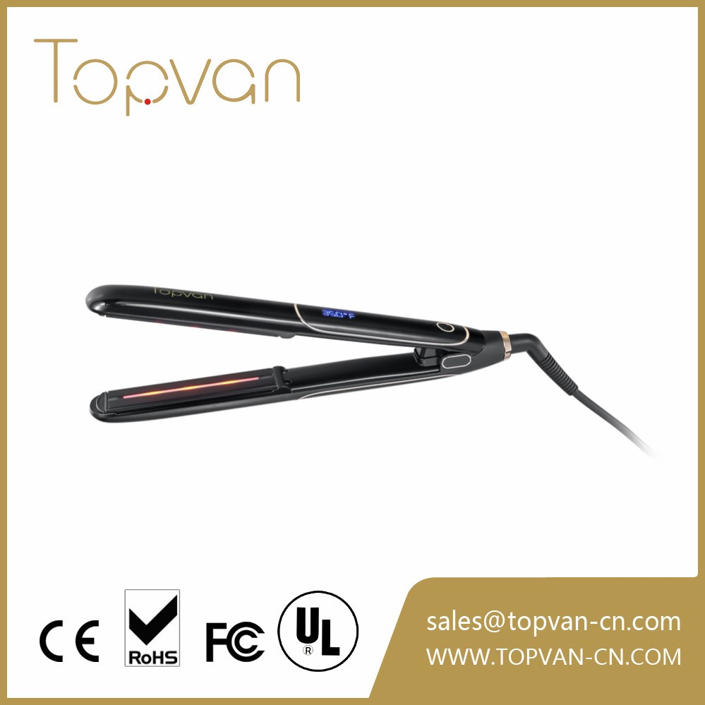 Best keratin care professional flat iron straightener with hair infrared function