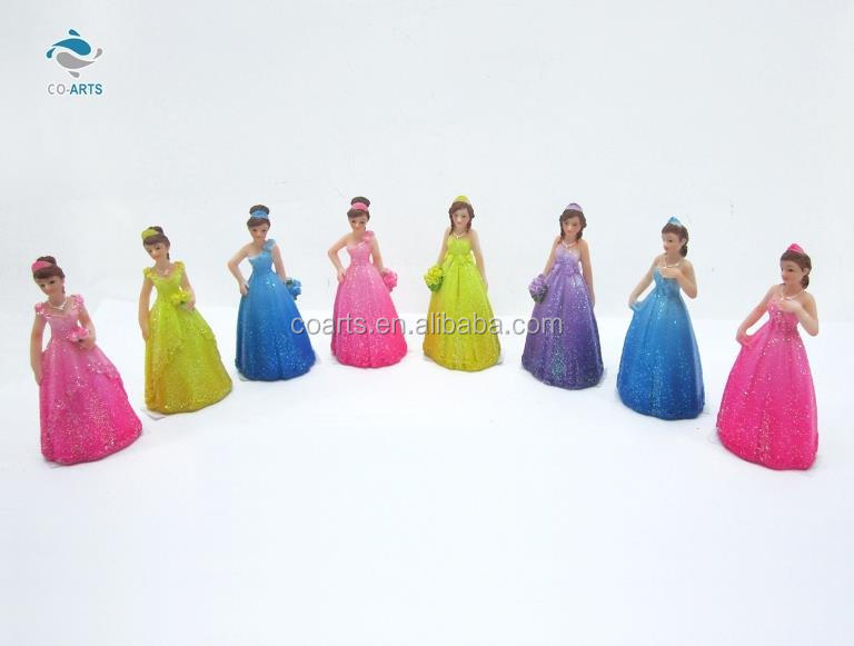 Good quality multi beautiful girls CO-ARTS wedding resin craft home decoration figurines